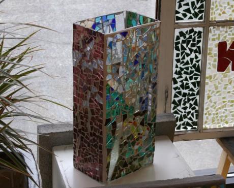 Jacqueline Barnett Glass Vase