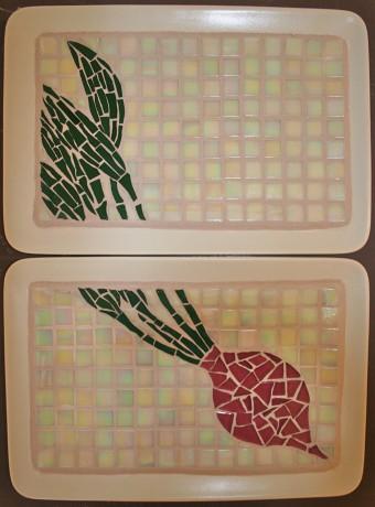 "Two 8""x11"" trays"
