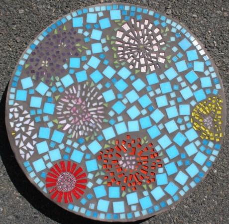 """16"""" round garden stone"""