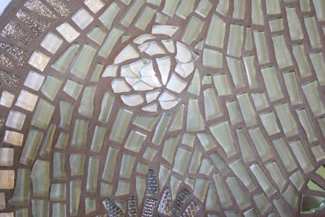 "15"" Platter by Fran Kremen '09 - detail"