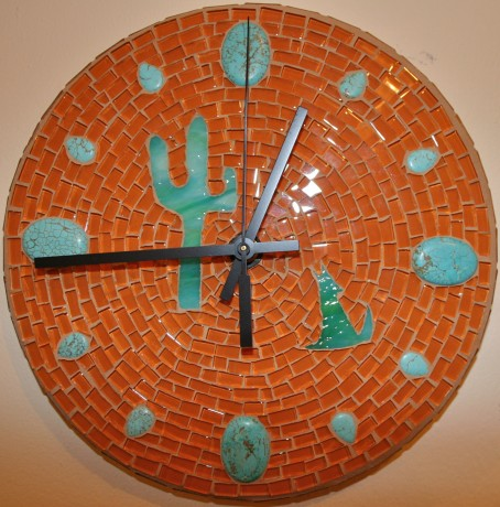 Custom clock by Lisa Taylor