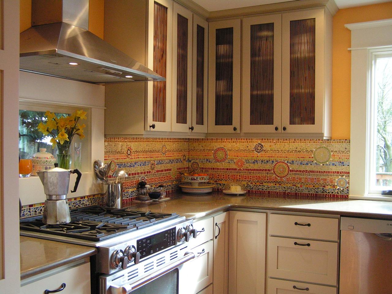 Custom Kitchen Backsplash By Alexandra Immel Seattle